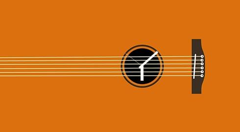 آموزش تمرین گیتار در زمان کم